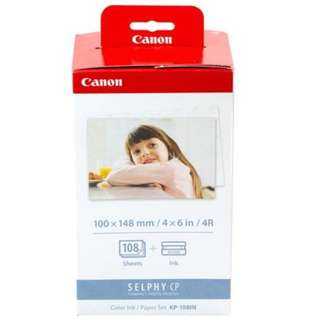 Canon Photo Paper (KP-108IN) for Canon® Selphy™ CP760, CP770 and CP780 compact photo printers