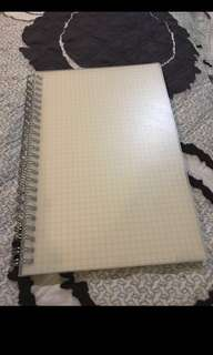 A5 Grid notebook