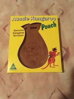 Kangaroo scrotum bag