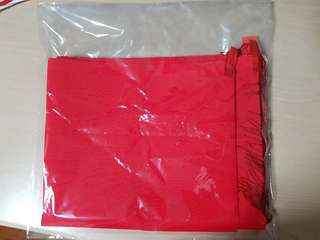 Red banner cloth