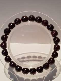 紫水晶手链. Amethlyst Bracelet (8mm)