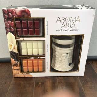 Aroma Aria electric wax warmer Kit