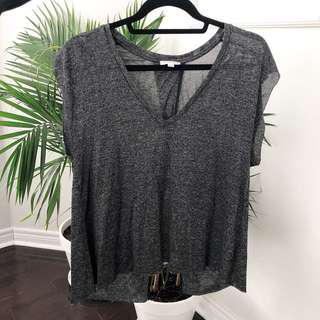 Aritzia Wilfred Split Back Top