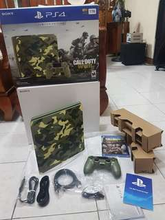 Limited Edition Ps4 Call of duty WWII