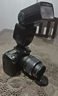 Nikon d90 with accessories rush sale