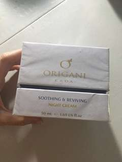 Origani soothing and reviving night cream