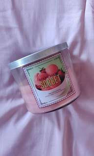 Bath & Body Works Strawberry Sorbet Candle