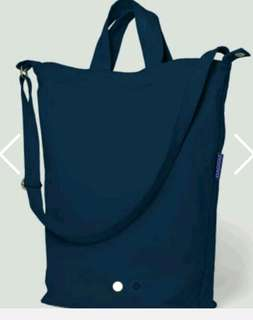 Fourskin tote sling bag/duck
