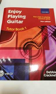 Enjoy playing guitar tutor book 1