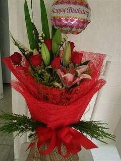 Birthday Bouquet Present
