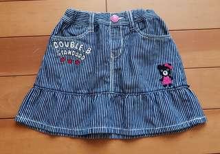 🚚 日本正品Miki House Double B女童短裙