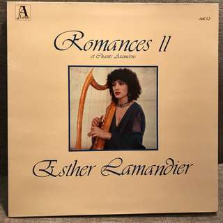 Esther Lamandier Romances II et Chants Arameens Alienor AL12