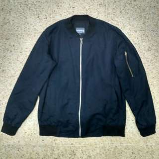 Bomber jacket navy blue