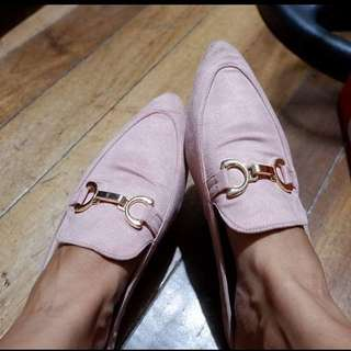 Pink mules-Soulmate size 8