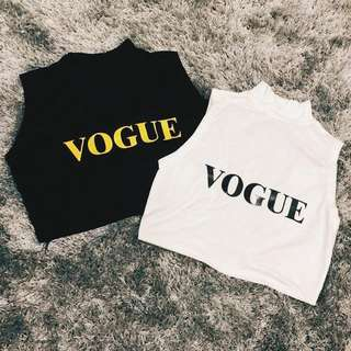 Vogue Turtle Crop