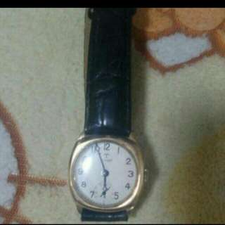 Vintage Tissot Gold Plated Watch