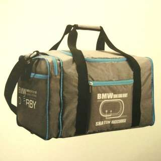 BMW Foldable Sports Duffle Bag 寶馬可摺疊運動袋