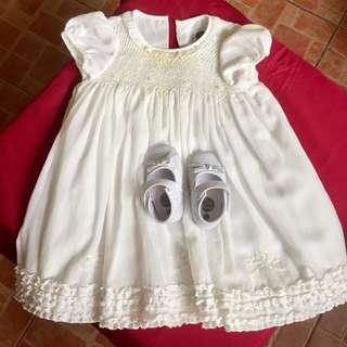 Christening dress for girl