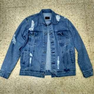 Jaket jeans thanksinsomnia