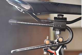 Saddle shock absorber suspension extender for Bicycle / E bike / Dyu