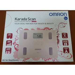 BNIB Omron Karada Scan HBF-212 Body Composition Monitor