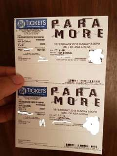 PARAMORE TICKET FOR SALE!!