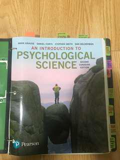 Intro to Psych: PSYA01 and PSYA02 (Leaflet)