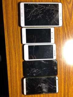 五台手機一起賣5 sell phones