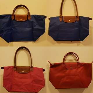 Authentic Longchamp Le pliage and Neo