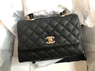Chanel CoCo Handle Mini 蜥蝪皮手挽