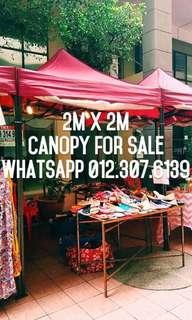 2m x 2m canopy