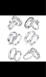 COUPLE RING WITH BOX 😍