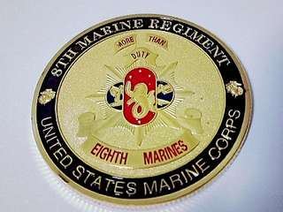 US Marines Corps coin