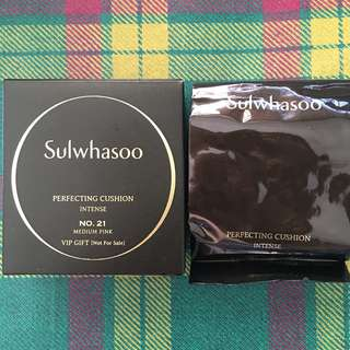 Sulwhasoo Perfecting Cushion intense No21 5g