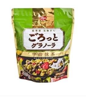 日本 宇治抹茶早餐麥片 500g