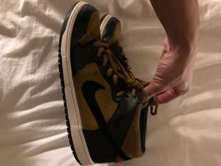 Nike Dunk High (SB) - Size US 11 (Suede)