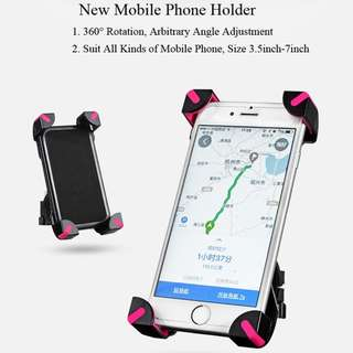 Rockbros Bicycle Phone Holder 5001 (Pink)