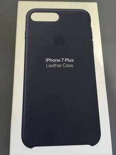Iphone 7+/8+ 蘋果原廠皮革電話殼