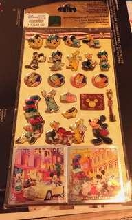 3 套 Disneyland Stickers 包郵