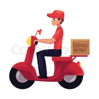 Bike/Courier delivery (we deliver for you)