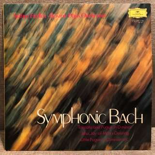 Symphonic Bach BPO Arthur Fiedler DG 1138