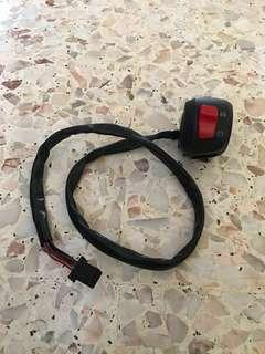 R15 V1 / V2 starter switch