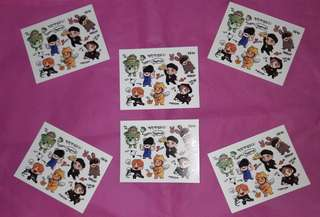 BTS OFFICIAL STICKERS