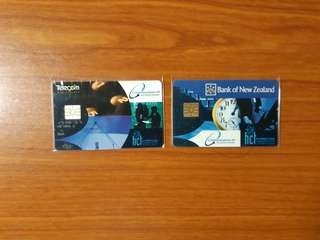 Vintage 1995 1st Trial Cashcards from New Zealand