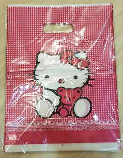 Hello Kitty Plastic Carriers Bags