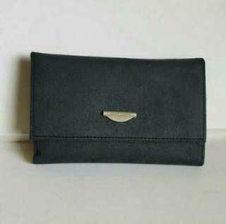 🚚 寶藍色皮夾中夾 搬家出清 降價賣 #畢業兩百元出清