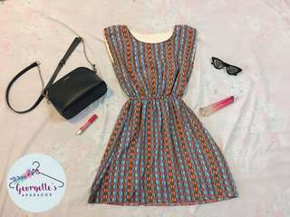 REPRICED Coloured Sunday dress