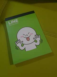 Line notebook