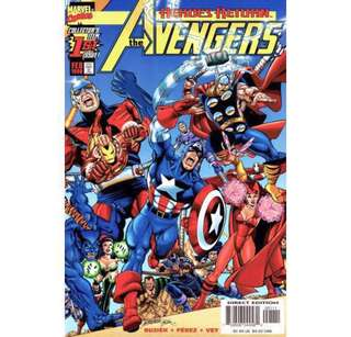 THE AVENGERS #1 (1998) Heroes Return  First Issue!
