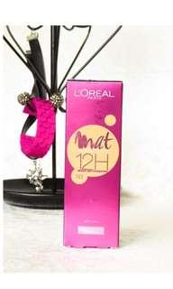 L'Oréal Mat Magique 12H foundation SPF 11